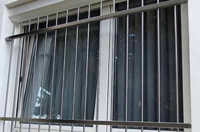K hnert industriemontage - Fenstergitter edelstahl einbruchschutz ...
